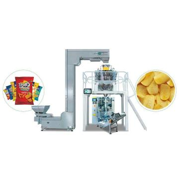 Twin Screw Potato Chips Frying Triangle Chips Snacks Food Manufacturing Machine