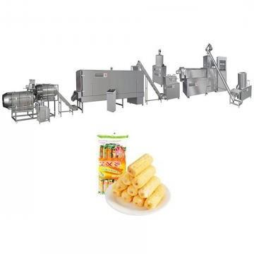 Full Automatic Corn Cracker Snacks Making Machine Puff Snack Extruder Core Filling Snack Extruder