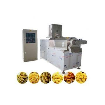 Small Stainless Steel Single Screw Corn Puff Snack Food Extruder
