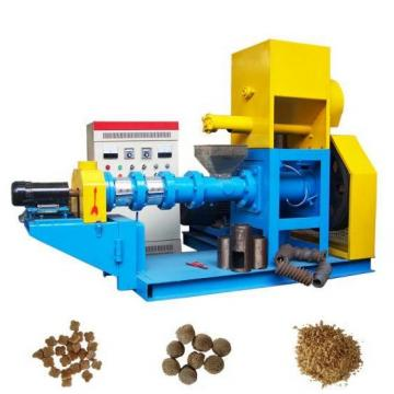 Chinese Factory Supplier Floating Pet Food Extruder Fish Food Machine
