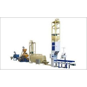 Stainless Steel Dog Food Extruder Cat Food Production Line Fox Food Processing Line