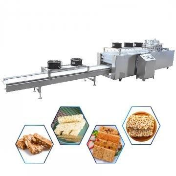 Small protein bar forming extruder machine
