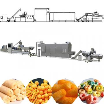 Automatic Inflating Core Filled Corn Puff Food Snack Extruder