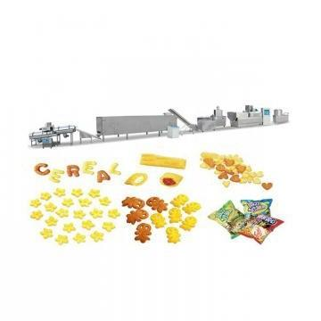 Popular Twin Extruder for Corn Puffed Snack Making Machine