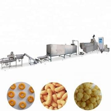 High Performance Automatic Puff Snack Machine / Corn Puff Snack Extruder Low Price