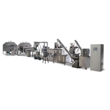 Fully Automatic Corn Puff Snack Food Machine Corn Chips Production Line