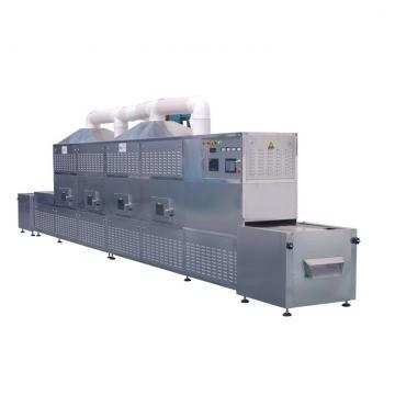 Cocoon Insect Larva Microwave Tunnel Drying Machine