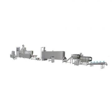 Automatic inflating sweet corn scale processing puffed puff making twin screw extruder core filled small snack food machine