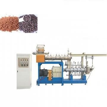 Automatic Electrical Pellet Dry Dog Food Making Machinery Floating Fish Making Machine Pet Treats Processing Line