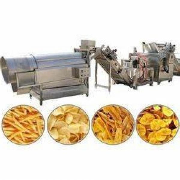 Manufacturing of Commercial Potato Chips Making Frying Equipment #2 image